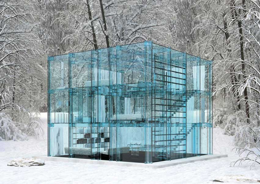 Glass Houses by Santambrogio Milano | Yellowtrace
