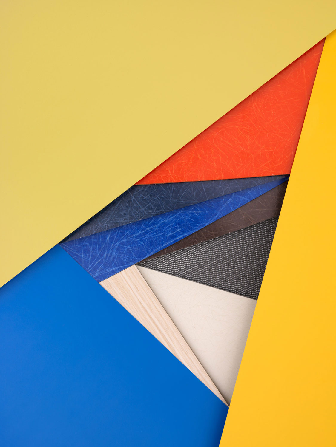 Herman Miller's Refreshed Palette by Carl Kleiner red blue yellow| Yellowtrace