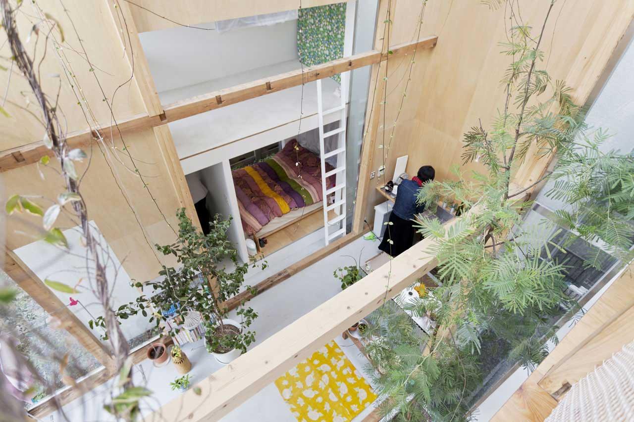 House Komazawa Park by miCo | Yellowtrace