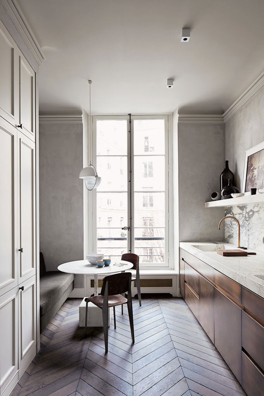 Paris Interior Design joseph dirand's paris apartment tour | yellowtrace.