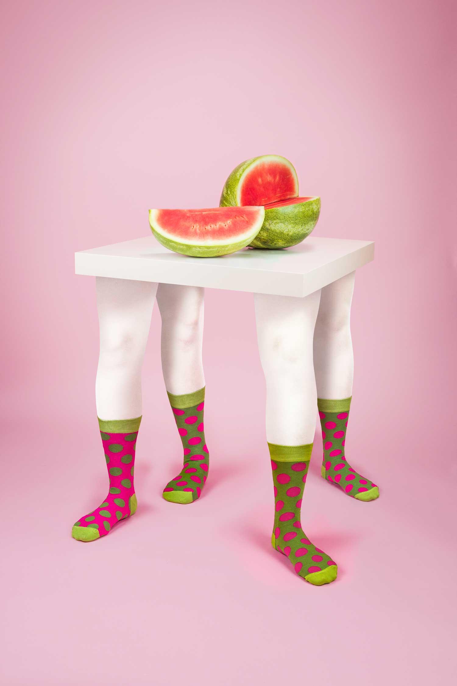Odd Pears, Pink by Leta Sobierajski | Yellowtrace