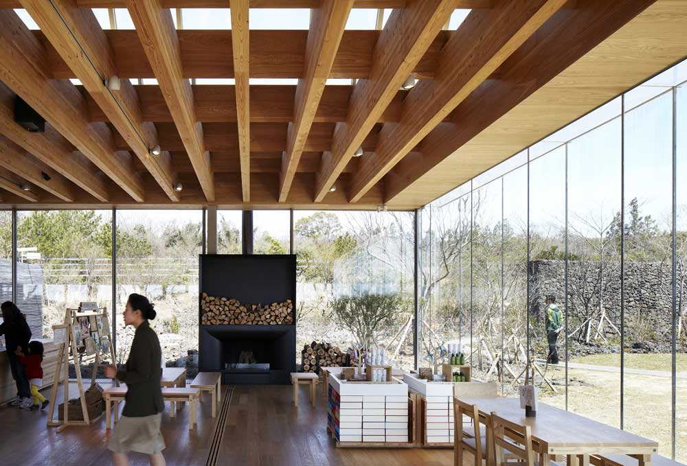 Osulloc Tea House Pavillions by Mass Studies | Yellowtrace
