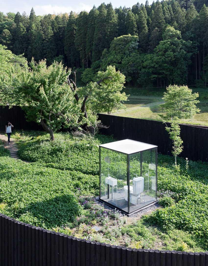 Public Toilet by Sou Fujimoto in Ichihara | Yellowtrace