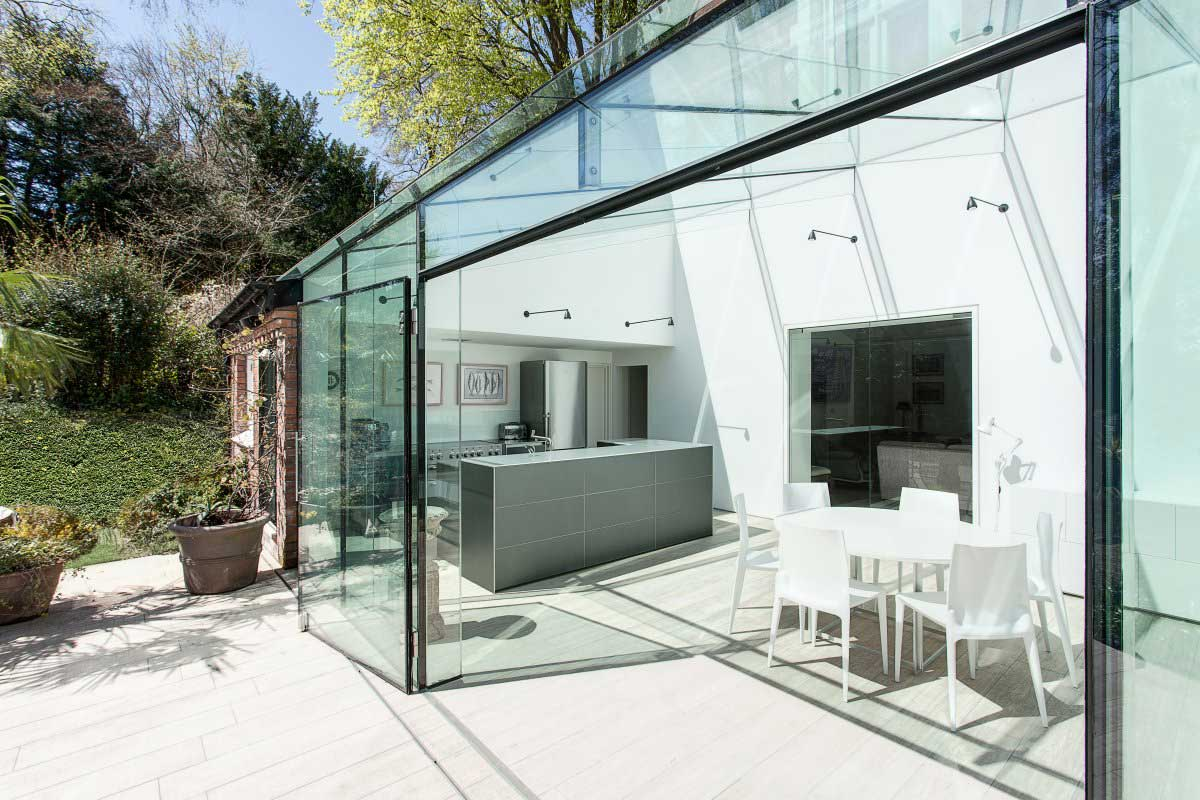 The Glass House by AR Design Studio | Yellowtrace