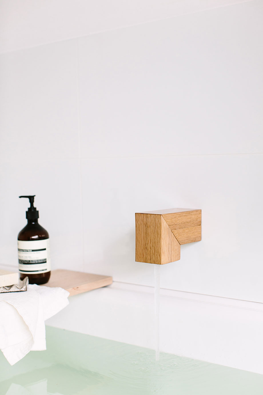 Kiri Wood Spout by Wood Melbourne | Yellowtrace
