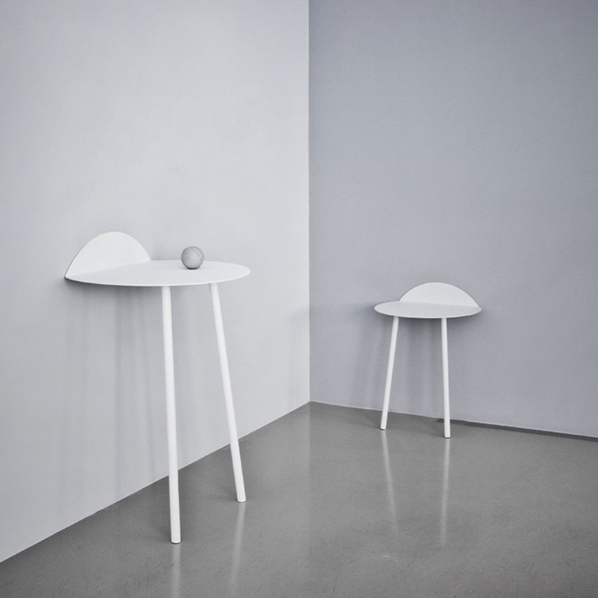 Kaki Side Table by Kenyon Yeh | Yellowtrace