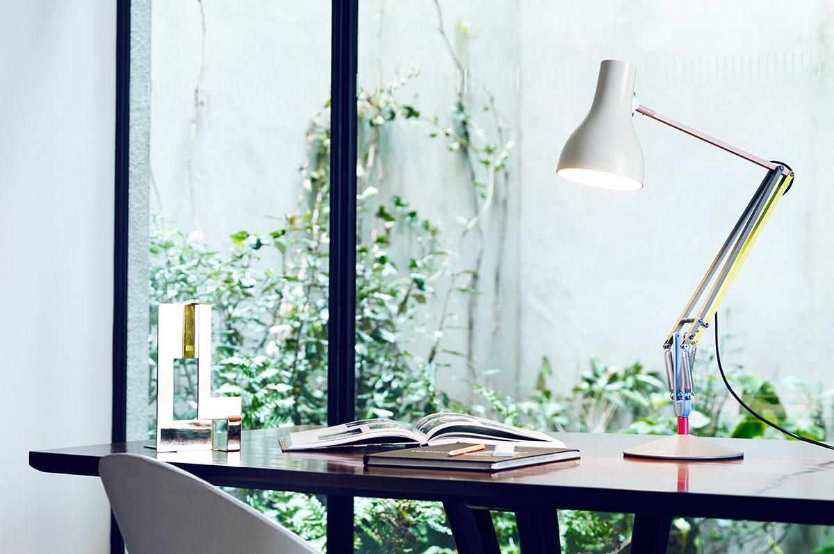 Anglepoise Paul + Smith | Yellowtrace