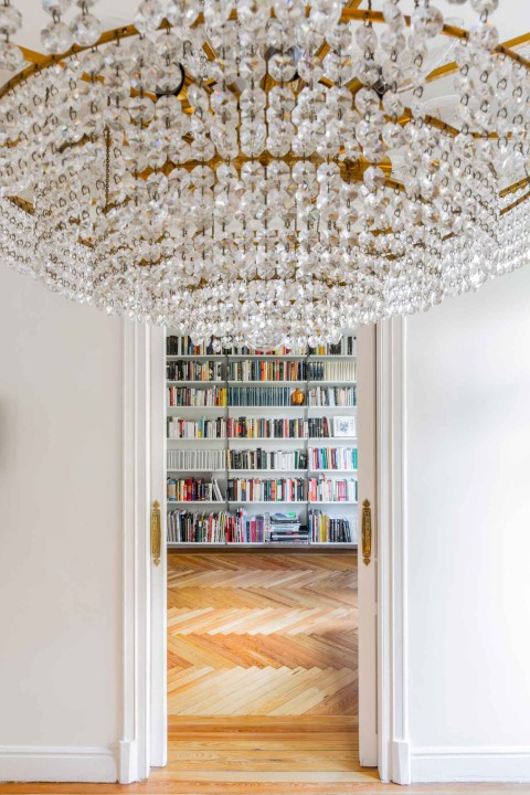 Refurbished Heritage Apartment in Madrid Photographed by Juan Baraja.