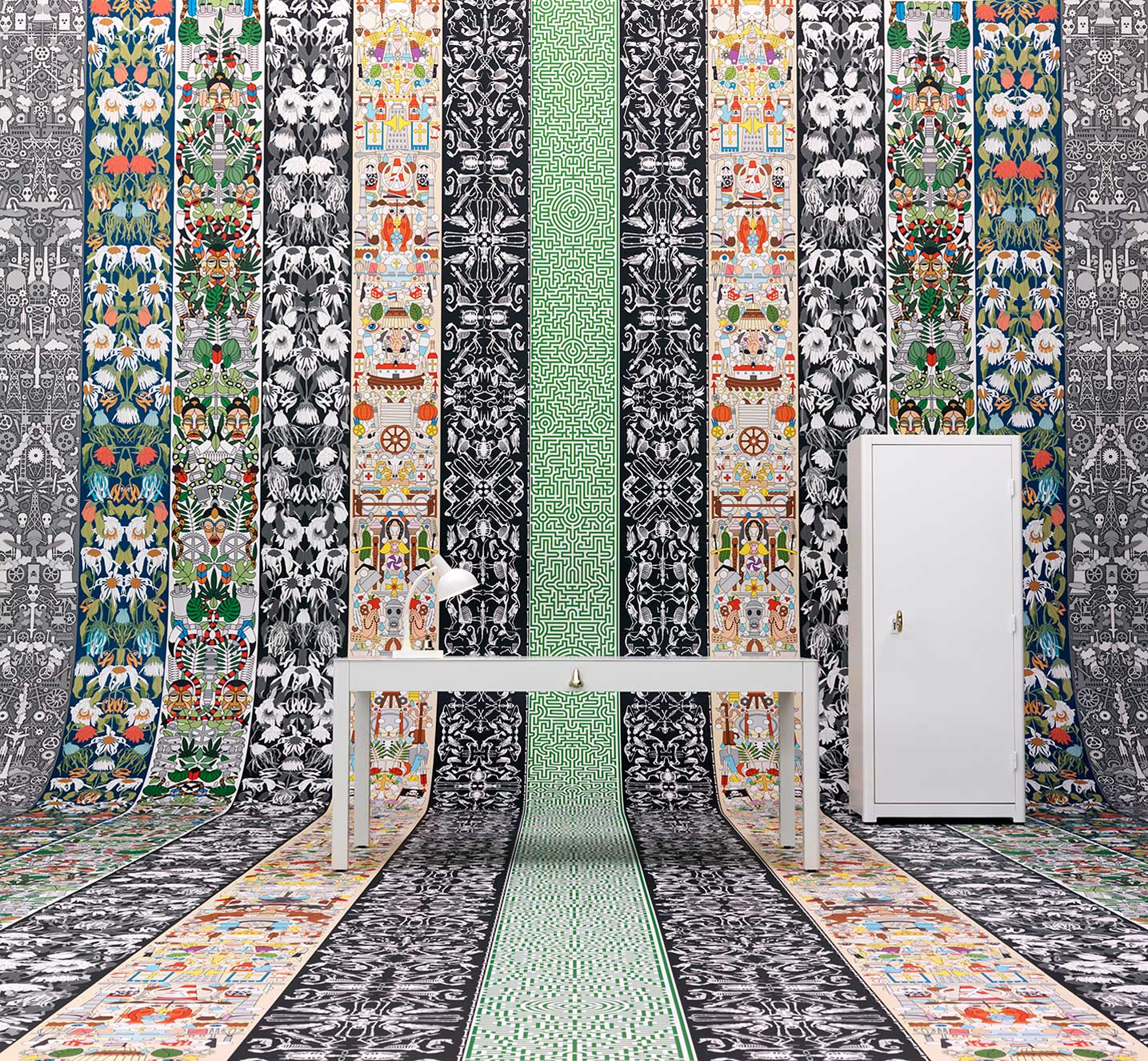 MILANTRACE 2014 / Best of Milan Design Week, Tortona, Studio Job Wallpaper for NLXL | Yellowtrace