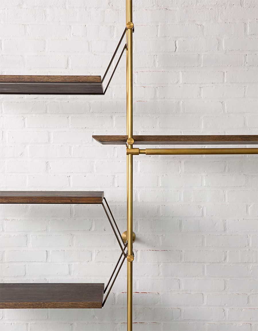 The Collector S Shelving System By Amuneal Yellowtrace