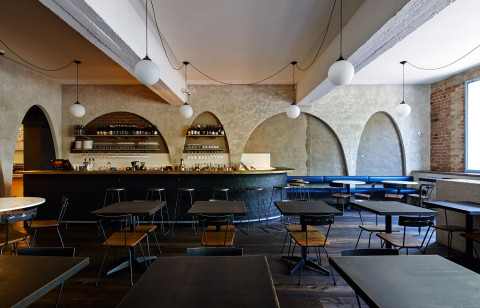 Ester Restaurant & Bar by Anthony Gill Architects // Sydney.