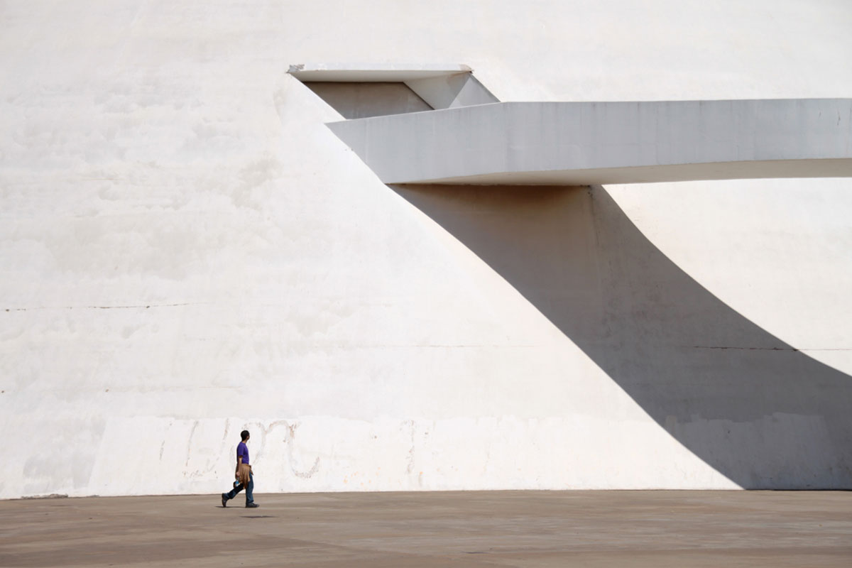The Oscar Niemeyer foundation building  | Yellowtrace