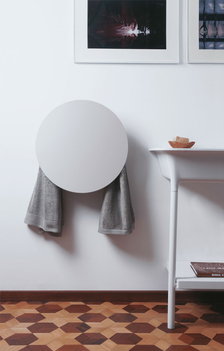 I Geometric Towel Warmers By MG12 | Yellowtrace
