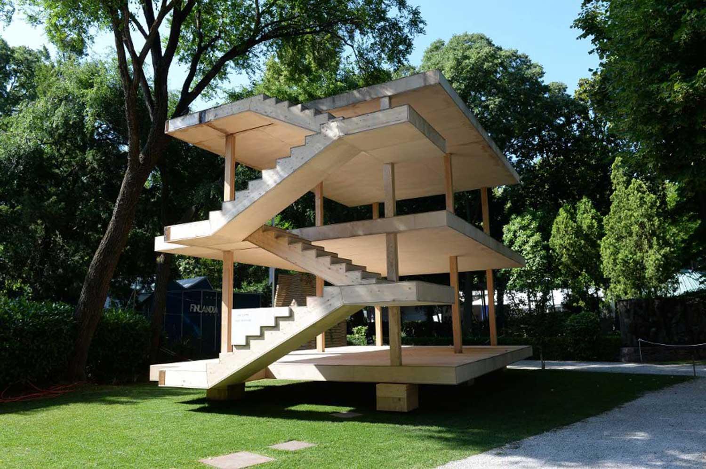 La Maison Dom-ino // Pavilion in the Giardini at the Venice Biennale 2014   Yellowtrace