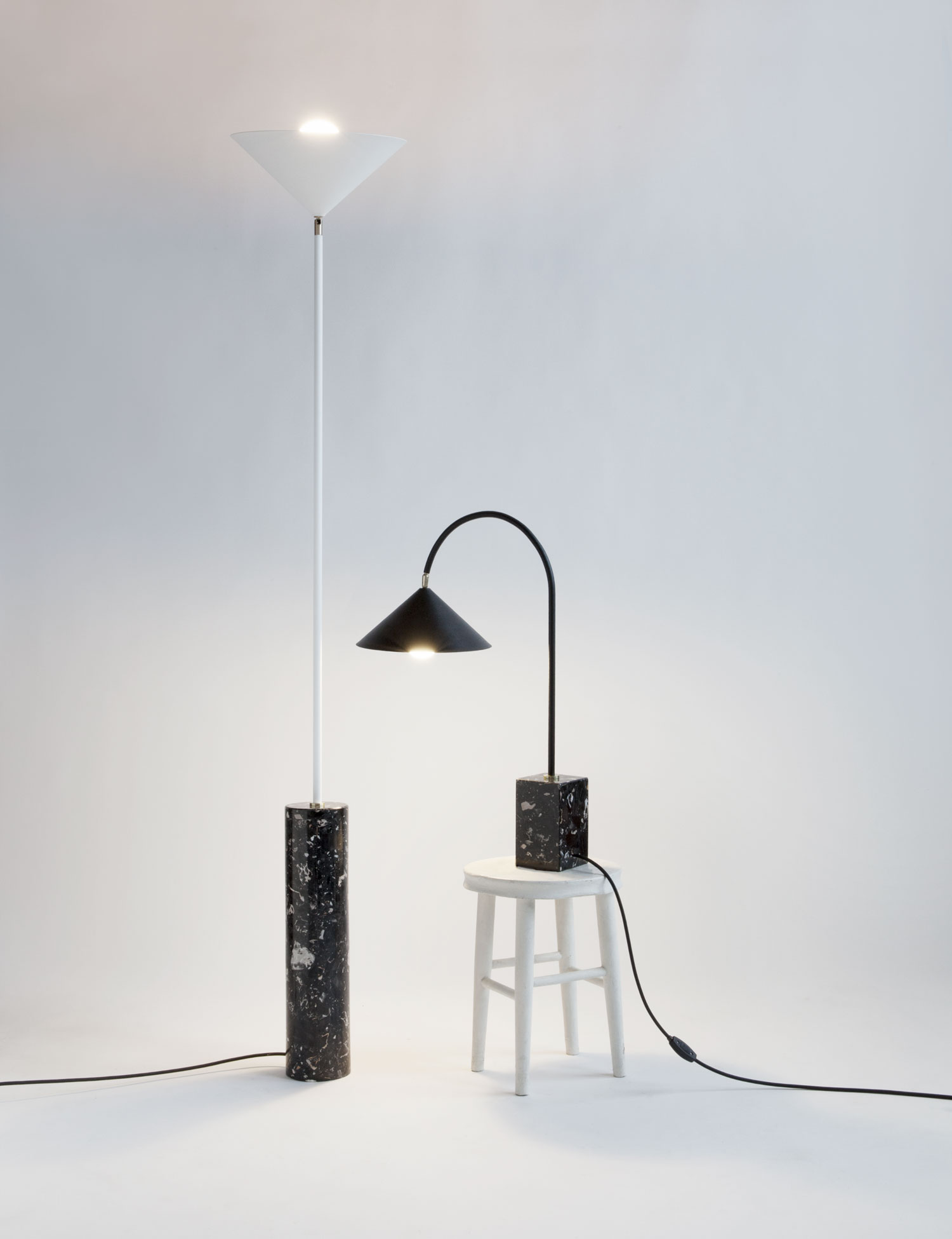Aspect Floor & Table Lamp by Moving Mountains | Yellowtrace