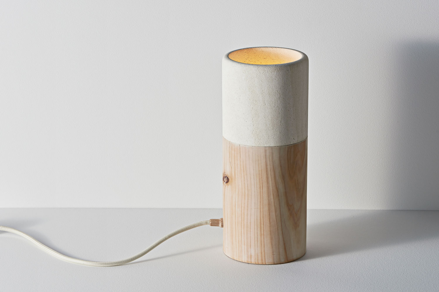 Object Future Australian Design Exhibition // Matchstick Lamp by Hugh Altschwager   Yellowtrace