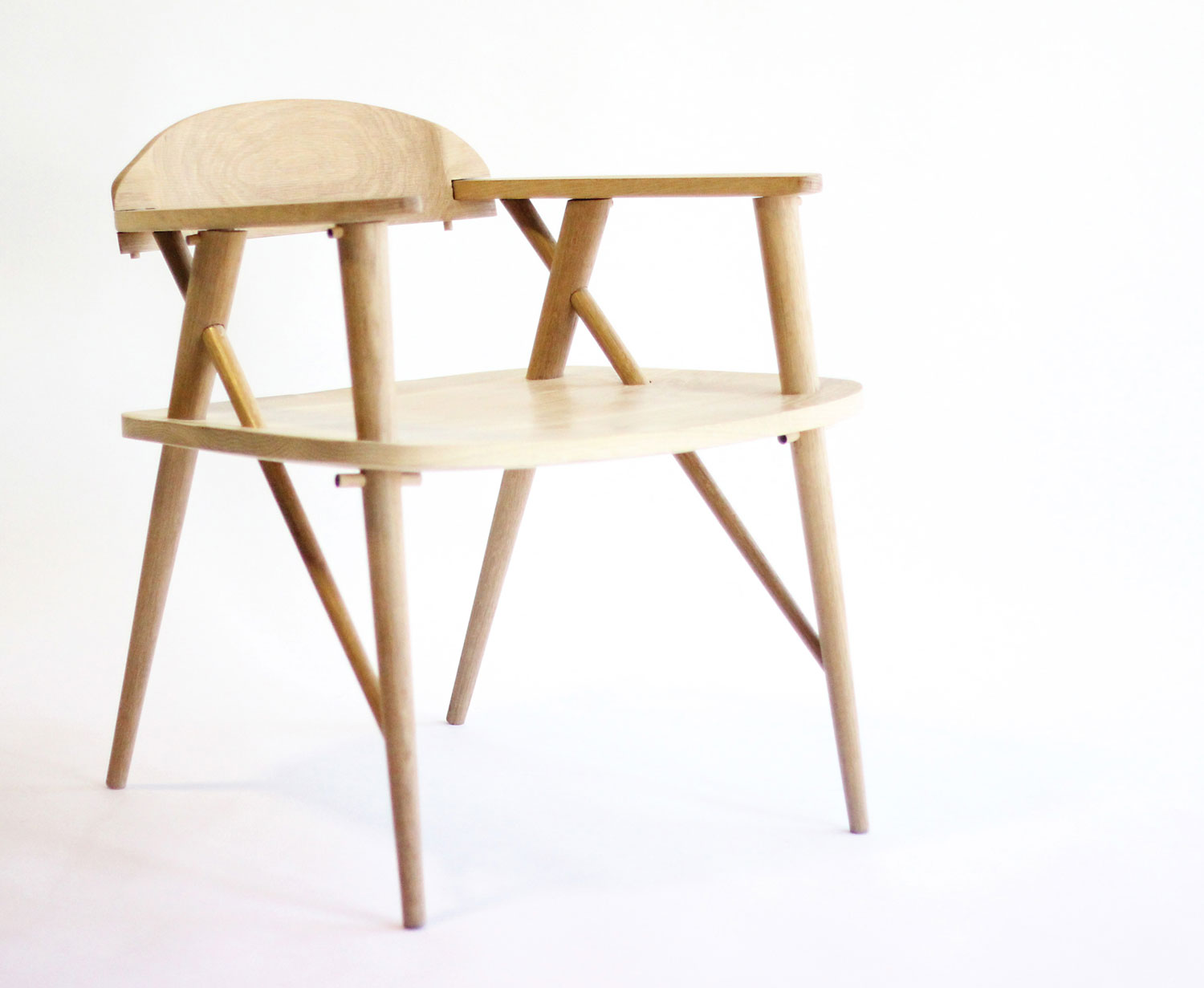 Object Future Exhibition by Dale Hardiman // Uragaeshi Chair by Chris Goff   Yellowtrace