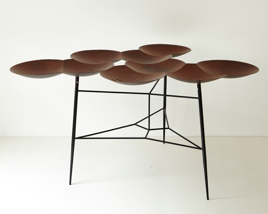 Small Taj Table by Noam Dover & Yoav Reches.