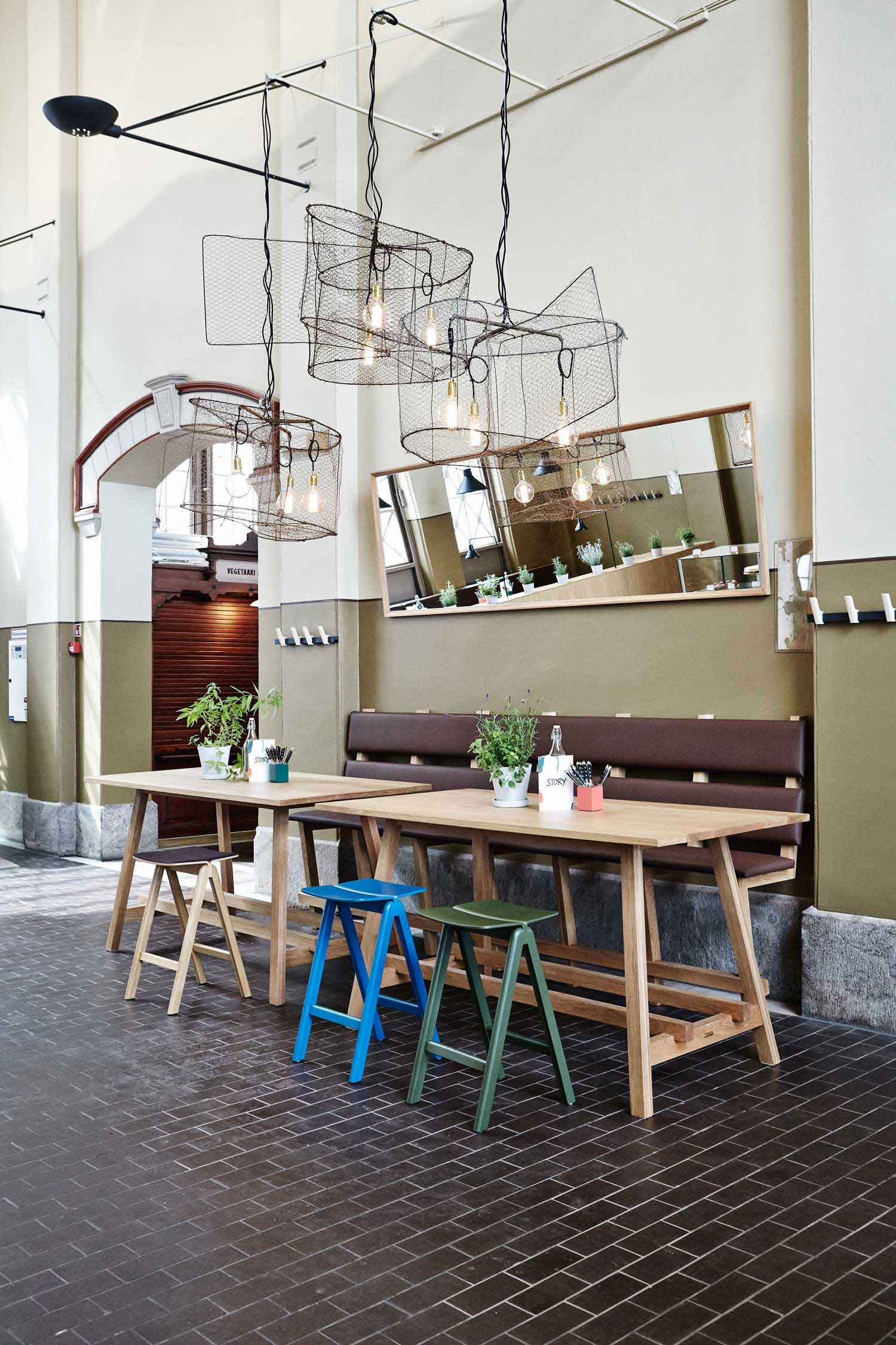 story restaurant in helsinki by joanna laajisto yellowtrace. Black Bedroom Furniture Sets. Home Design Ideas
