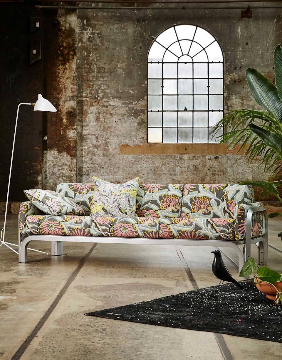 Utopia Goods Pride of Prints, Upholstery Fabrics Launch with Jorn Utzon Project | Yellowtrace
