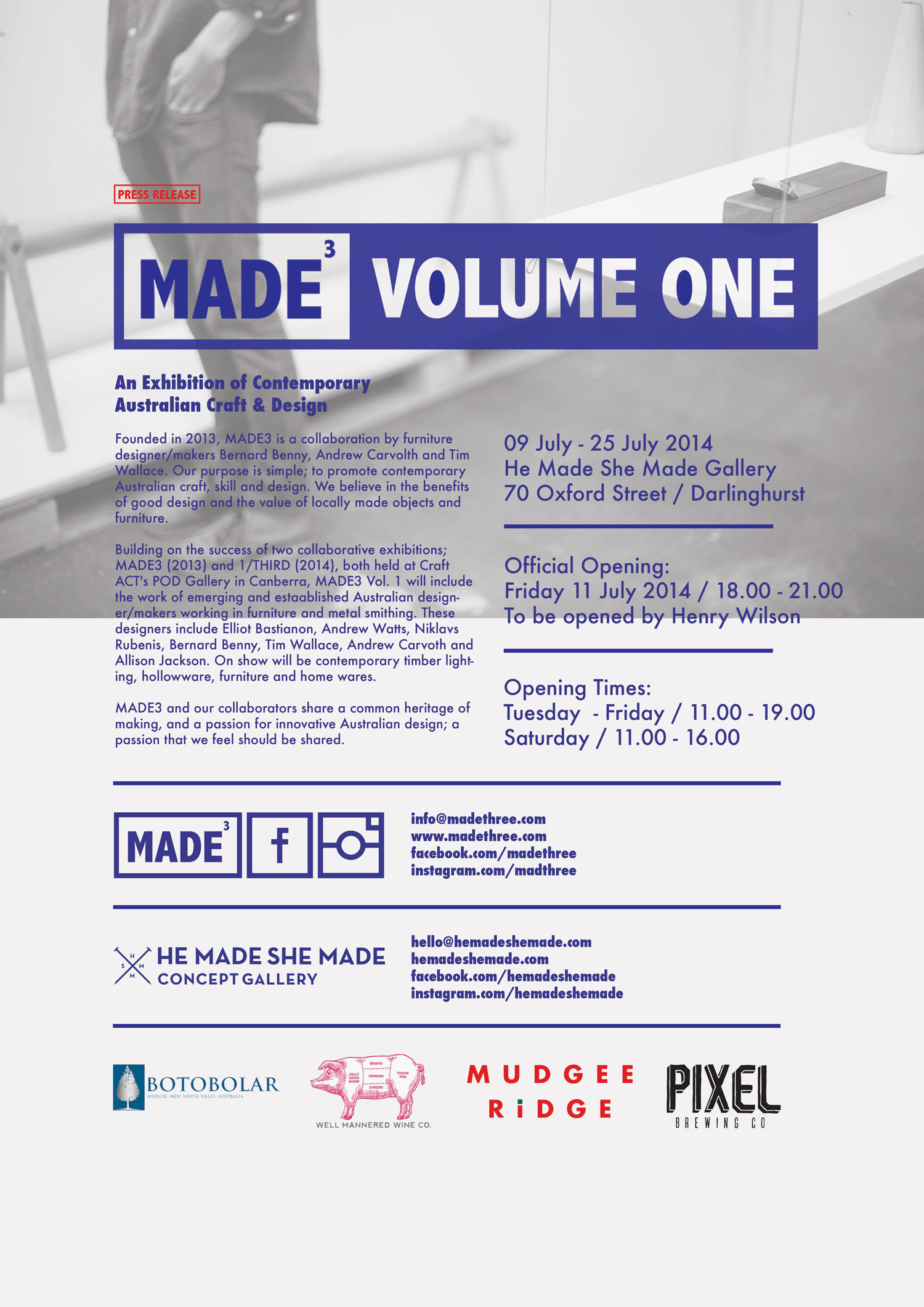 Volume One Exhibition by MADE3 | Yellowtrace