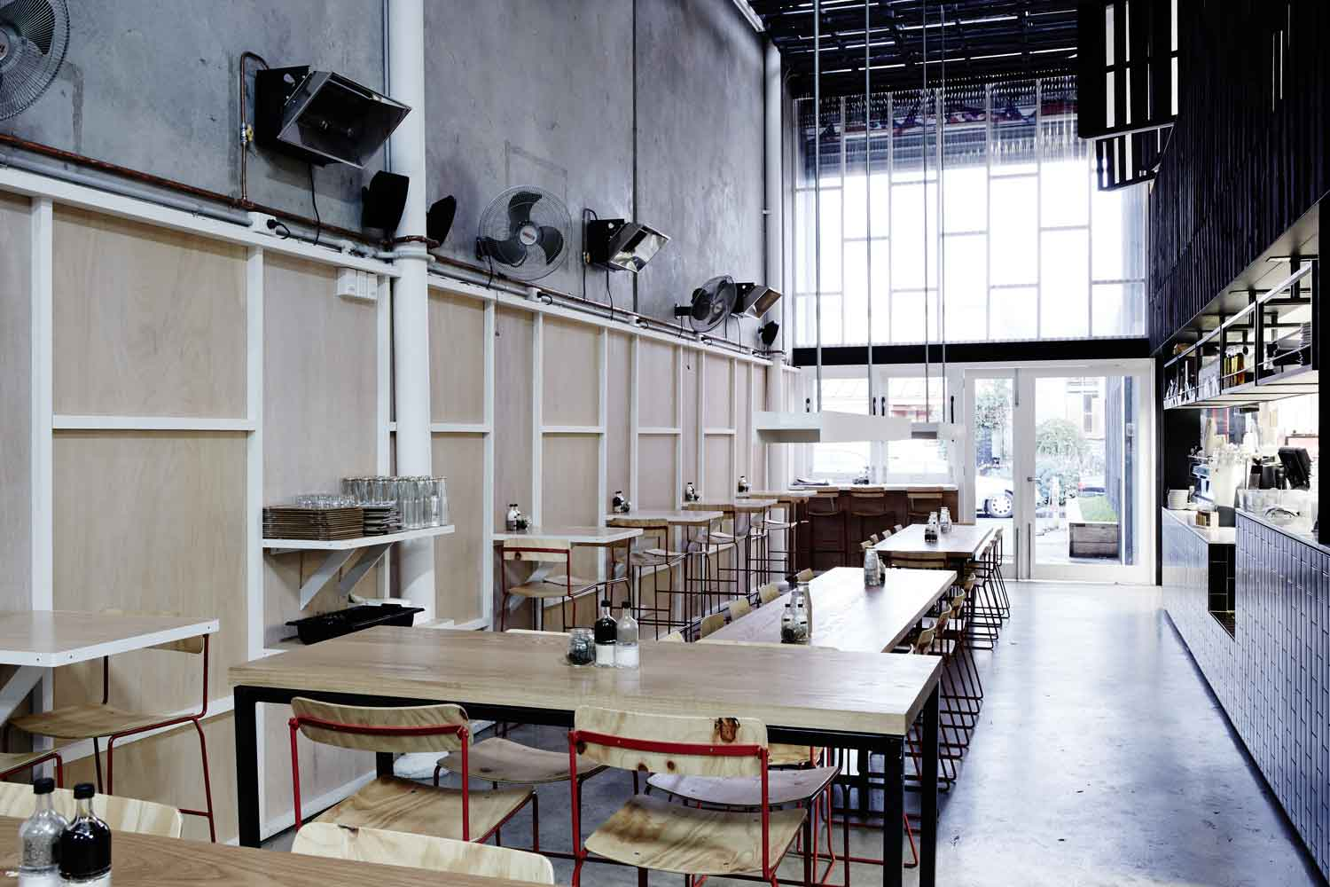Beans Caf 233 Amp Roastery By Figureground Architecture