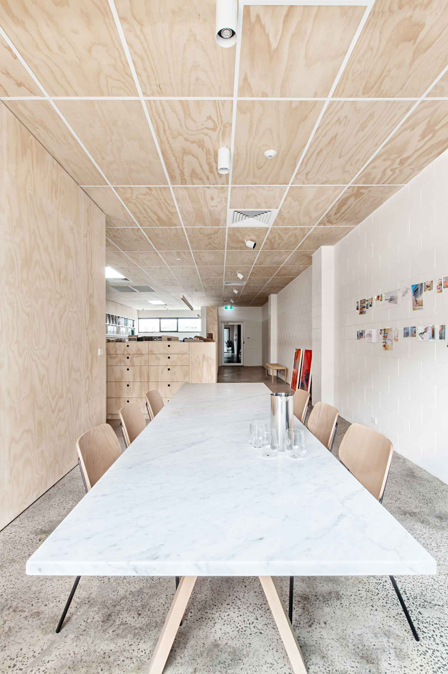 Clare Cousins' Melbourne Office, Blackwood Street Bunker | Yellowtrace