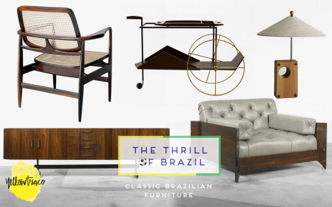 Brazil Week // Classic Brazilian Furniture Awesomeness.