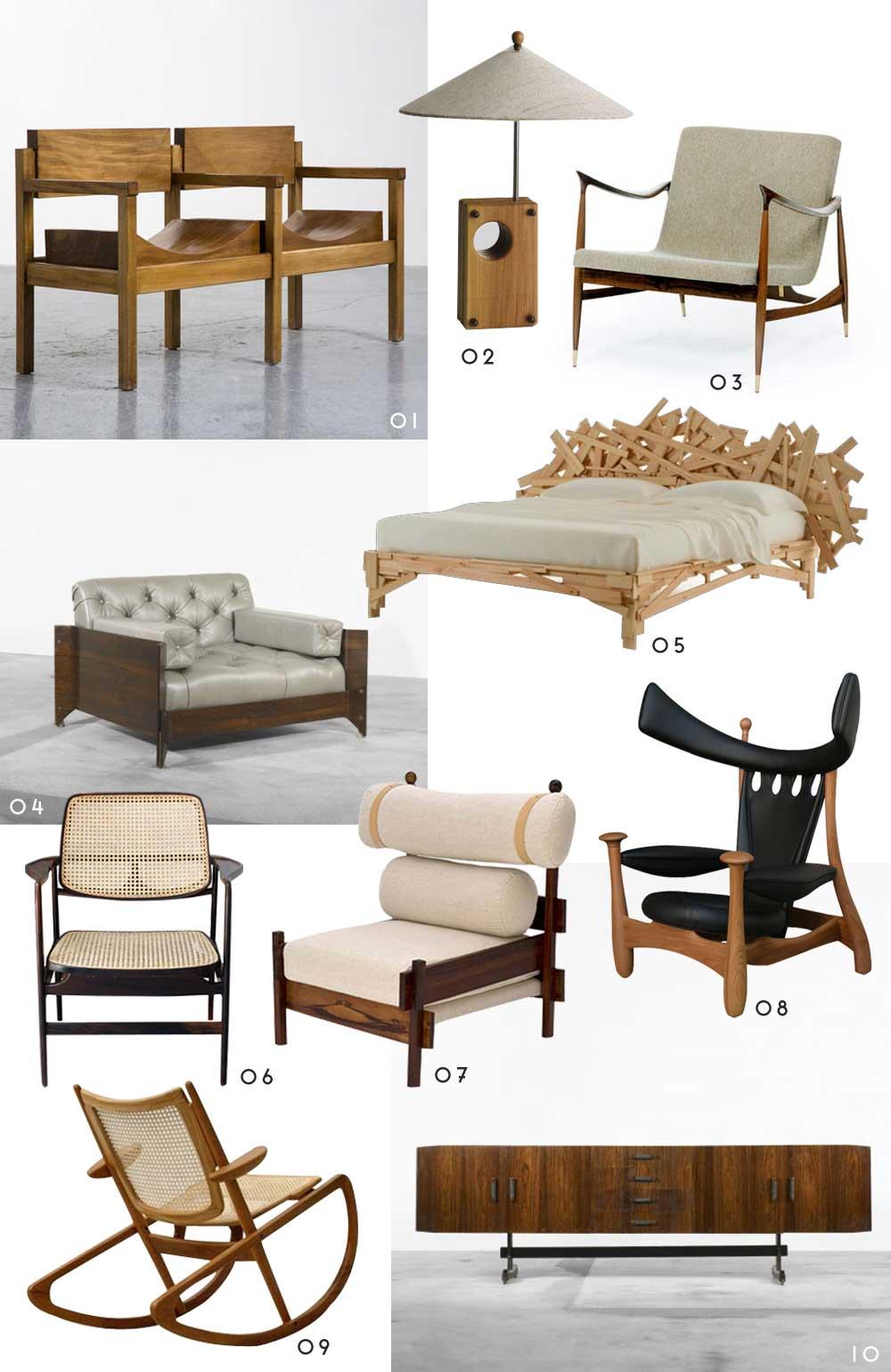 Classic Brazilian Furniture | Yellowtrace