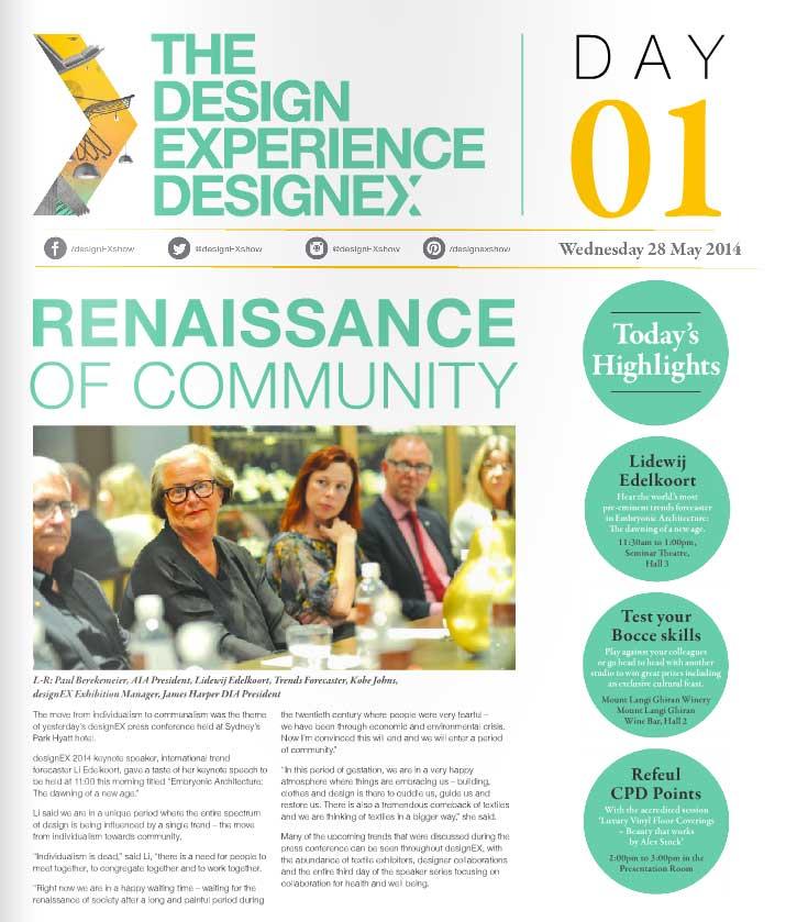 designEX Sydney 2014