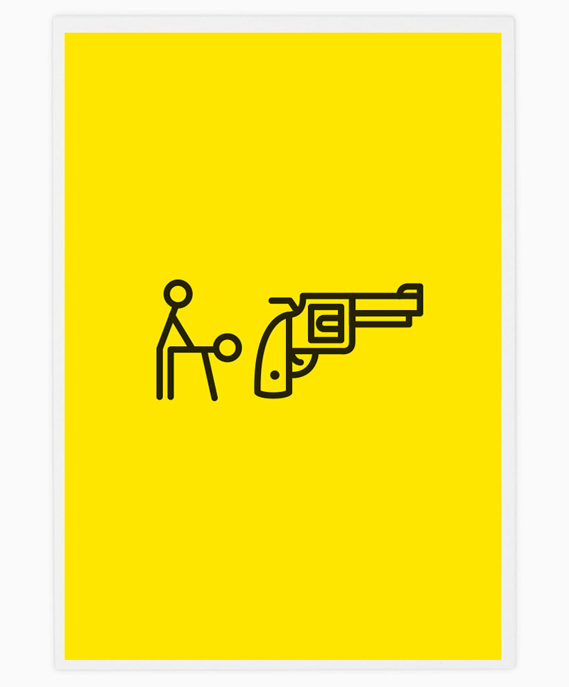 Literal rock band icons by tata friends yellowtrace for Dessin minimaliste