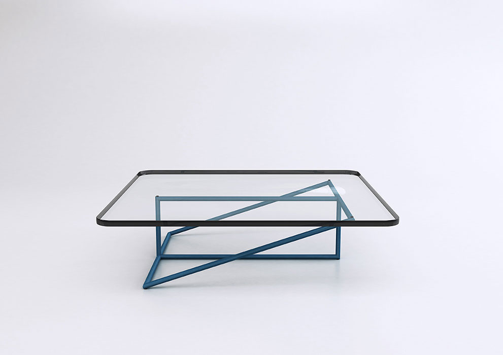 Luis Arrivillaga Frames Tubular Steel Table | Yellowtrace
