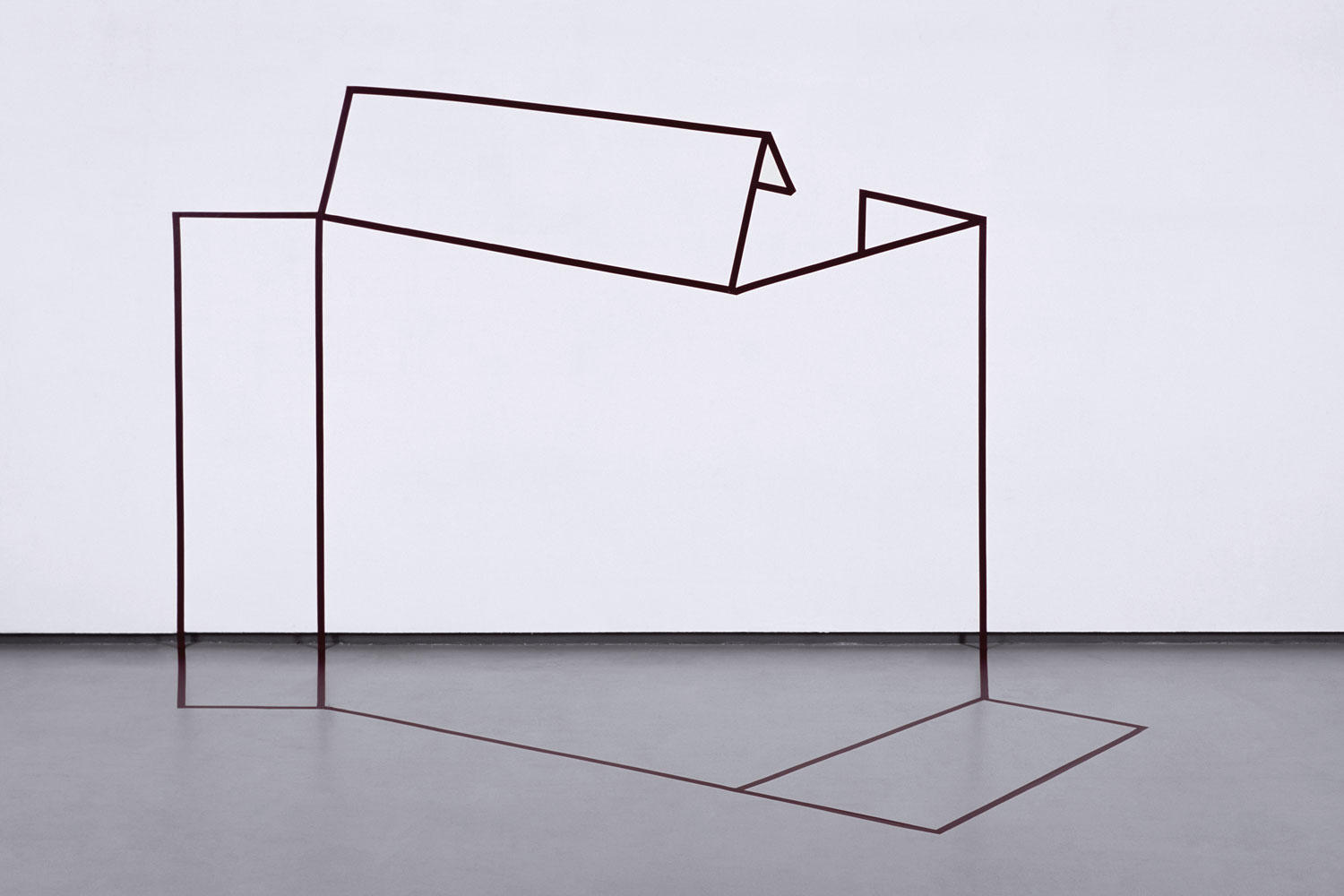 Made In:side, Tape Art Series by Igor Eškinja at FL Gallery | Yellowtrace