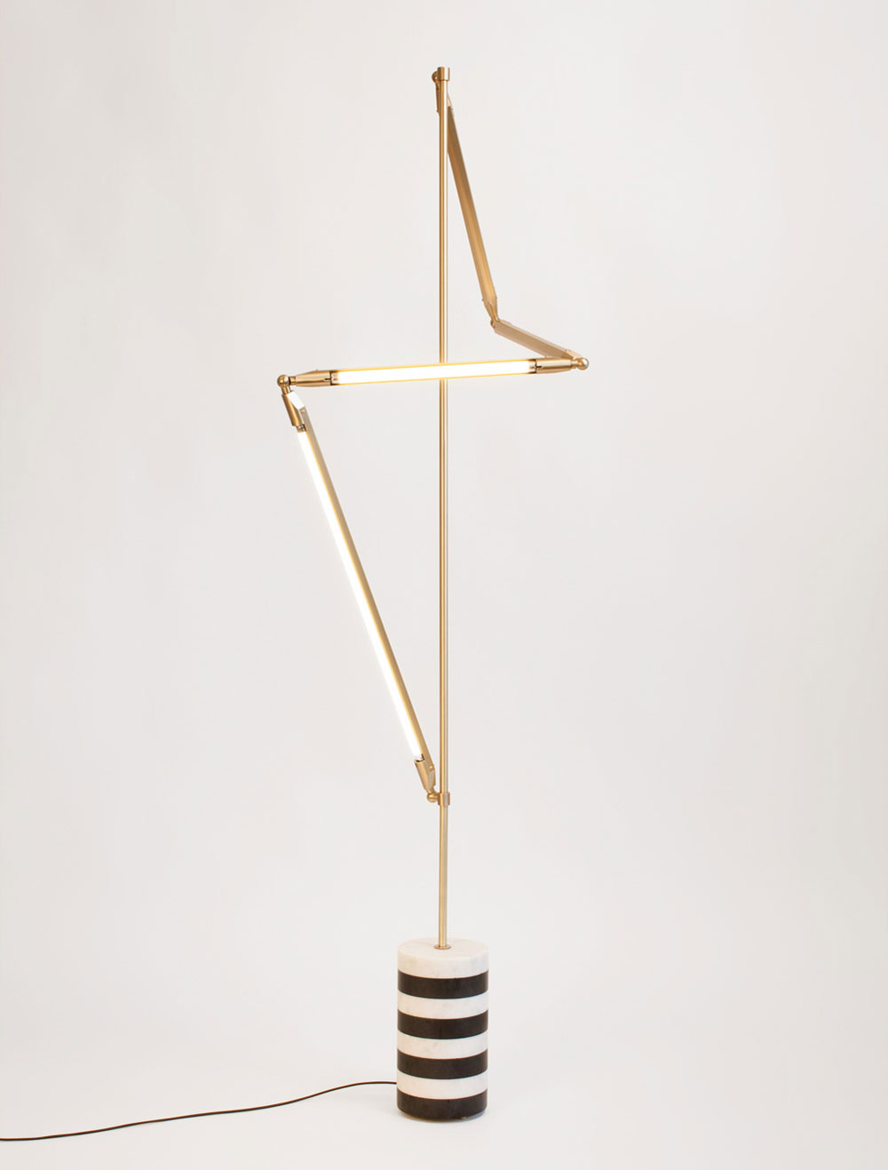 Sculptural Geometric Lighting by Bec Brittain | Yellowtrace