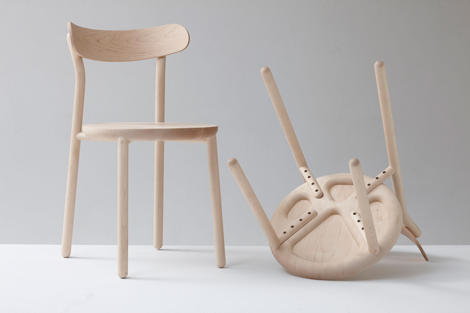 Them Chair by Nicholas Karlovasitis & Sarah Gibson from DesignByThem | Yellowtrace