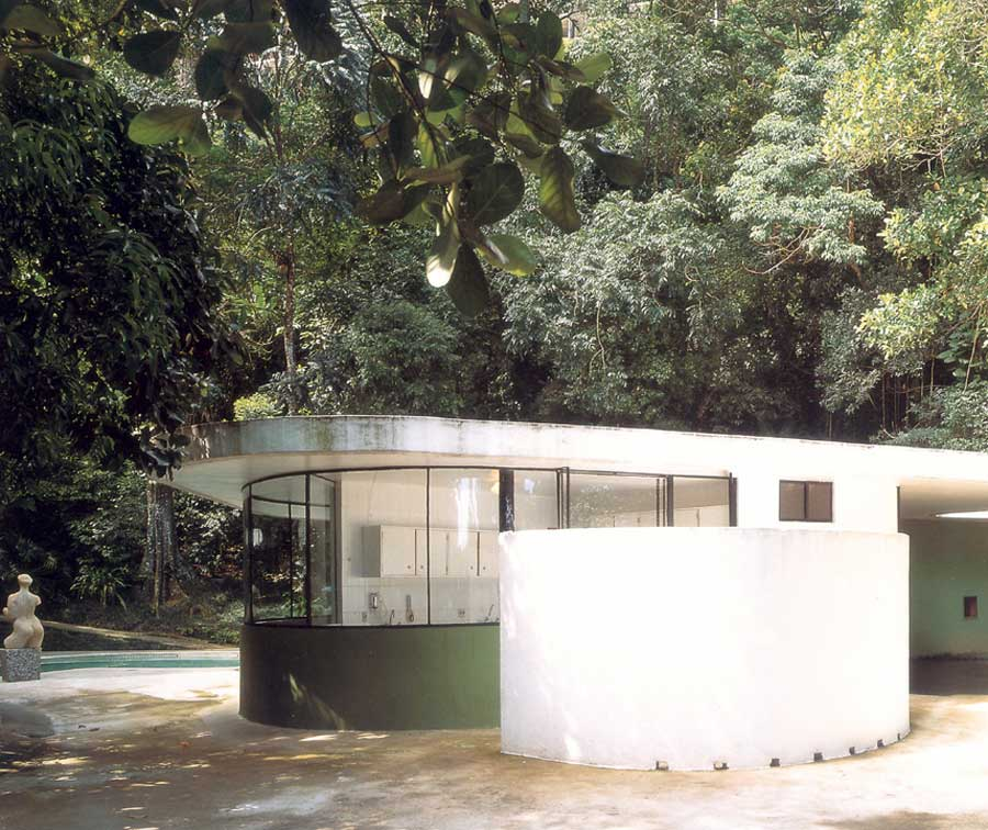 Casa das Canoas by Oscar Niemeyer | Yellowtrace