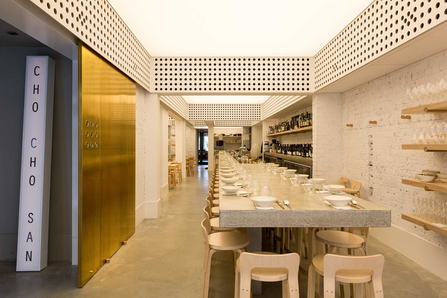 Cho San Contemporary Japanese Restaurant In Sydney By George Livissianis