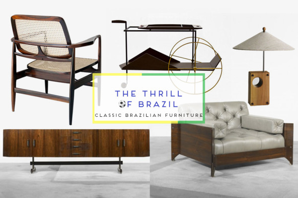 Classic Brazilian Furniture, Curated by Yellowtrace.