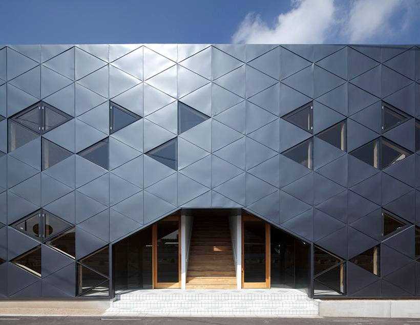 Dabura Commercial Building Full of Triangles | Yellowtrace