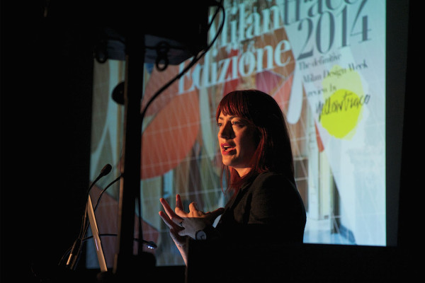 Dana Tomic Hughes, MILANTRACE Edizione 2014 National Speaking Tour. Photo by Nick Hughes   Yellowtrace