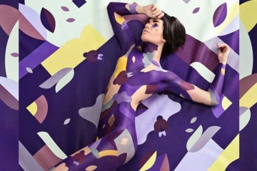 Janine Rewell X Minna Parikka Body Painting | Yellowtrace
