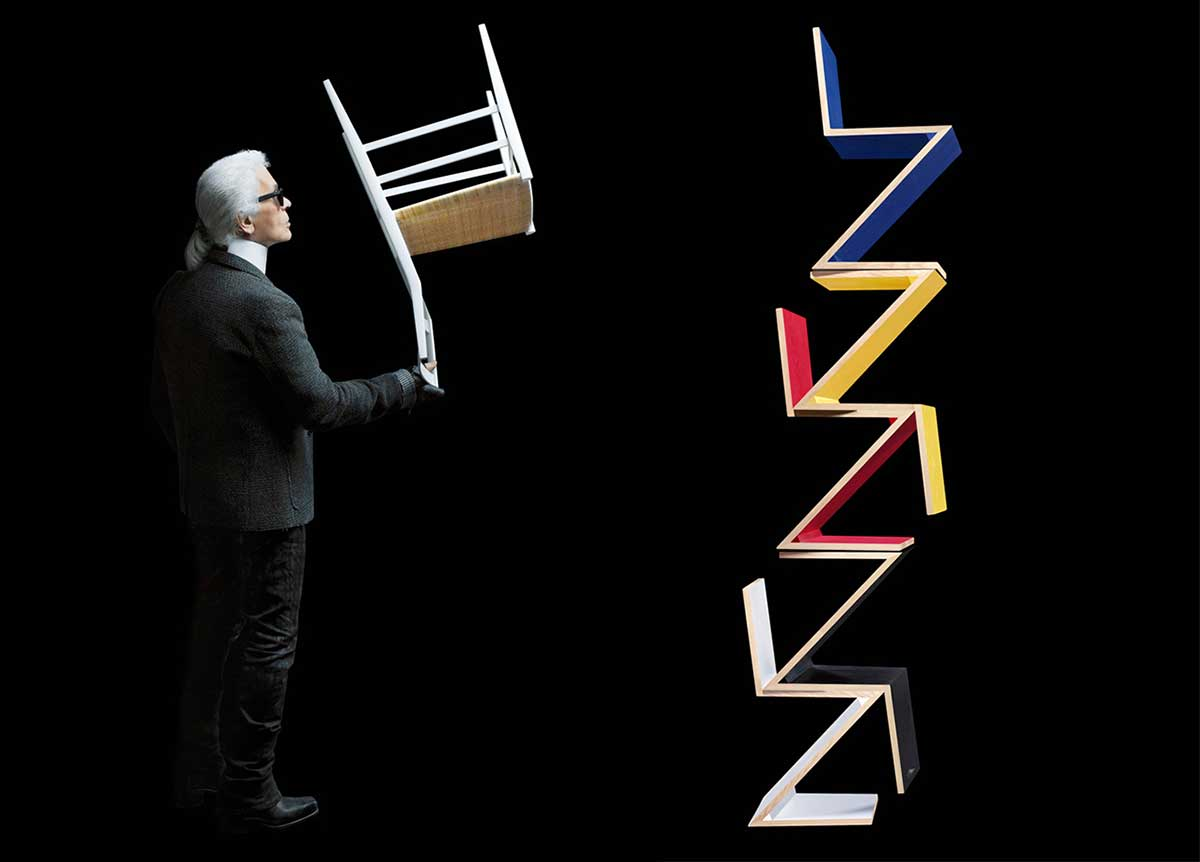 Karl Lagerfeld Photographs Iconic Furniture for Cassina | Yellowtrace