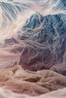 Magical Landscapes From Plastic Bags by Vilde Rolfsen | Yellowtrace