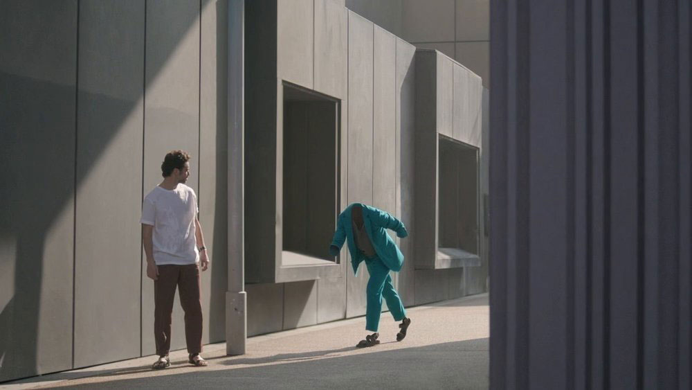 Man on the Move by Romain Laurent for Hermes | Yellowtrace
