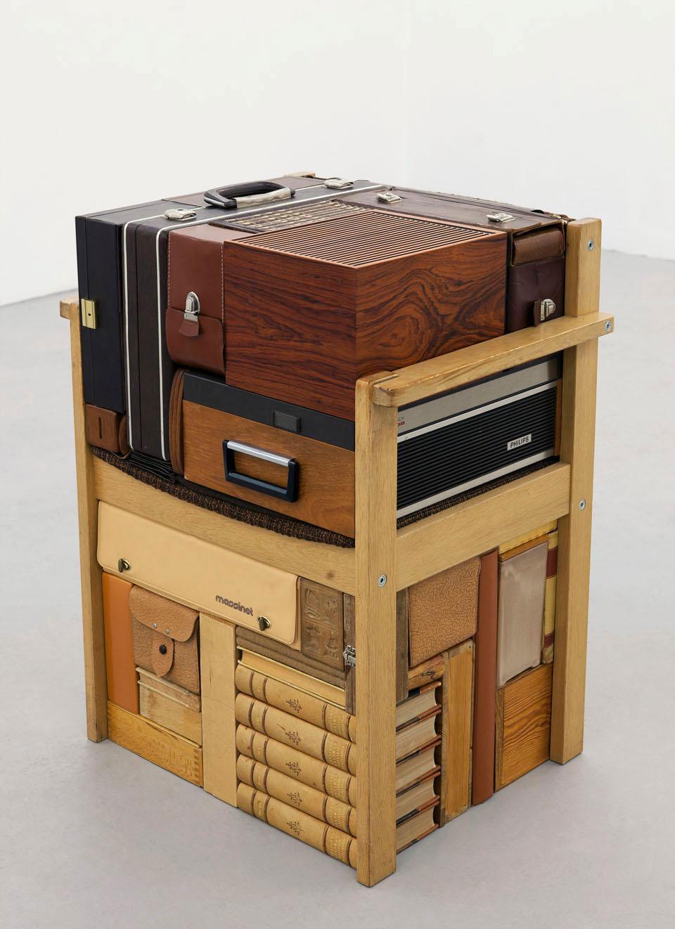 Michael Johansson vintage suitcases | Yellowtrace