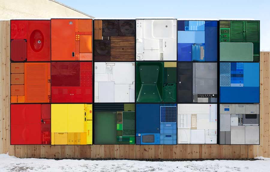 Michael Johansson rubiks cube installation | Yellowtrace