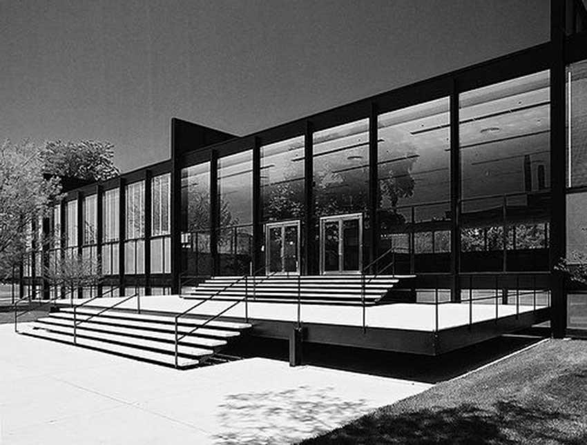75 years of mies van der rohe and his chicago school. Black Bedroom Furniture Sets. Home Design Ideas
