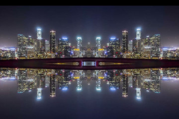 Mirror City Timelapse by Michael Shainblum | Yellowtrace