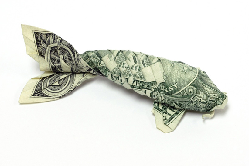 Money Origami By Won Park Yellowtrace Yellowtrace