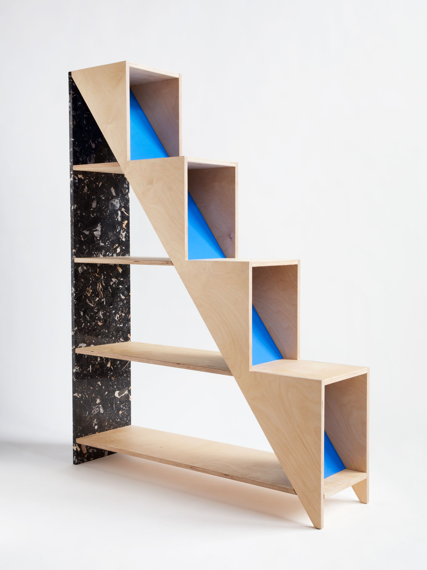 Hi-Lo Shelving by Moving Mountains | Yellowtrace